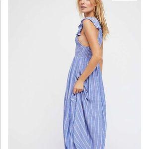 Free people blue chambray dress